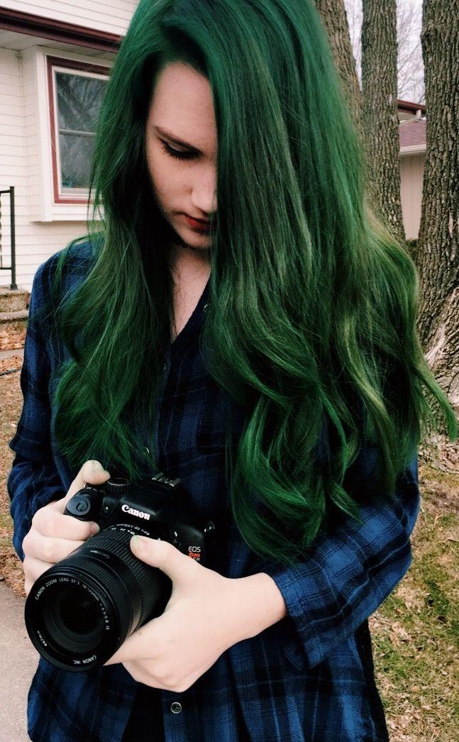 Emerald Green Hair Manic Panic Green Envy Possible Hair Colour