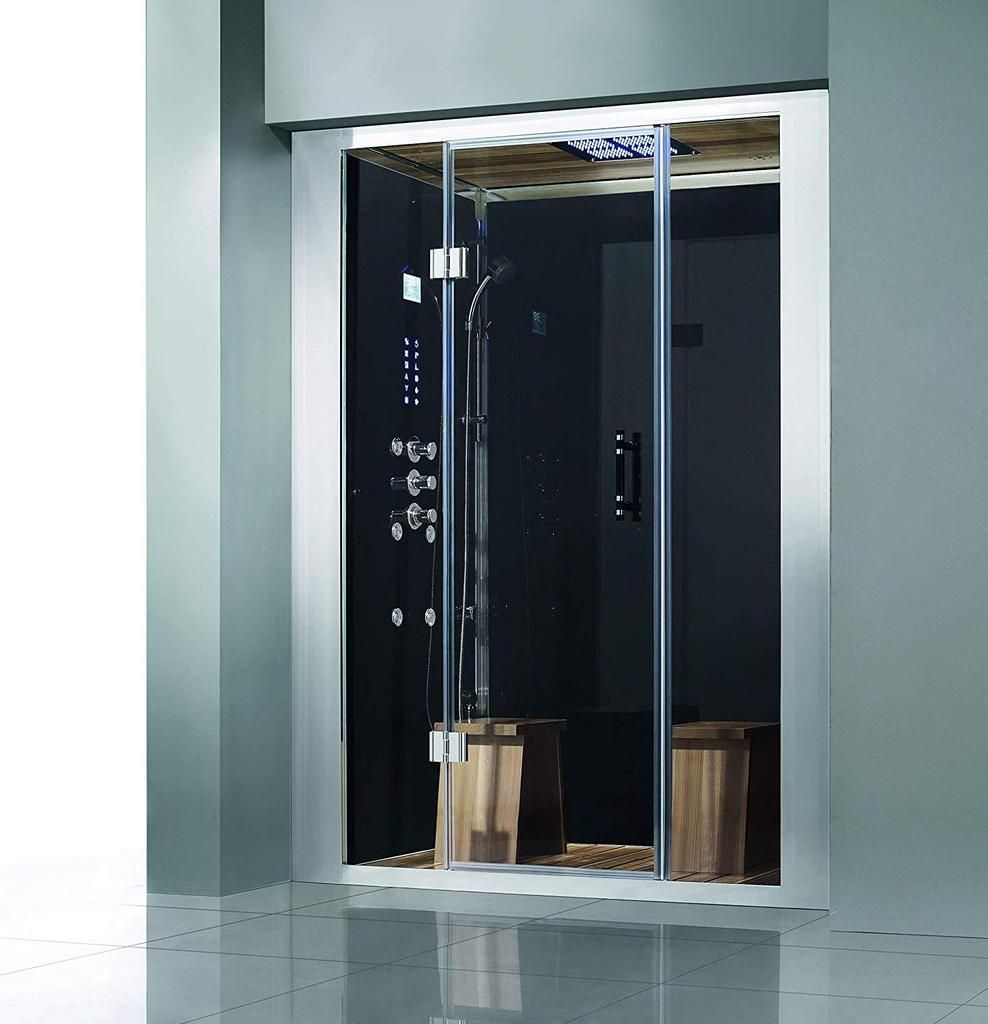 Dz972f8 Platinum Steam Shower Sauna Enclosure Jetted Spa