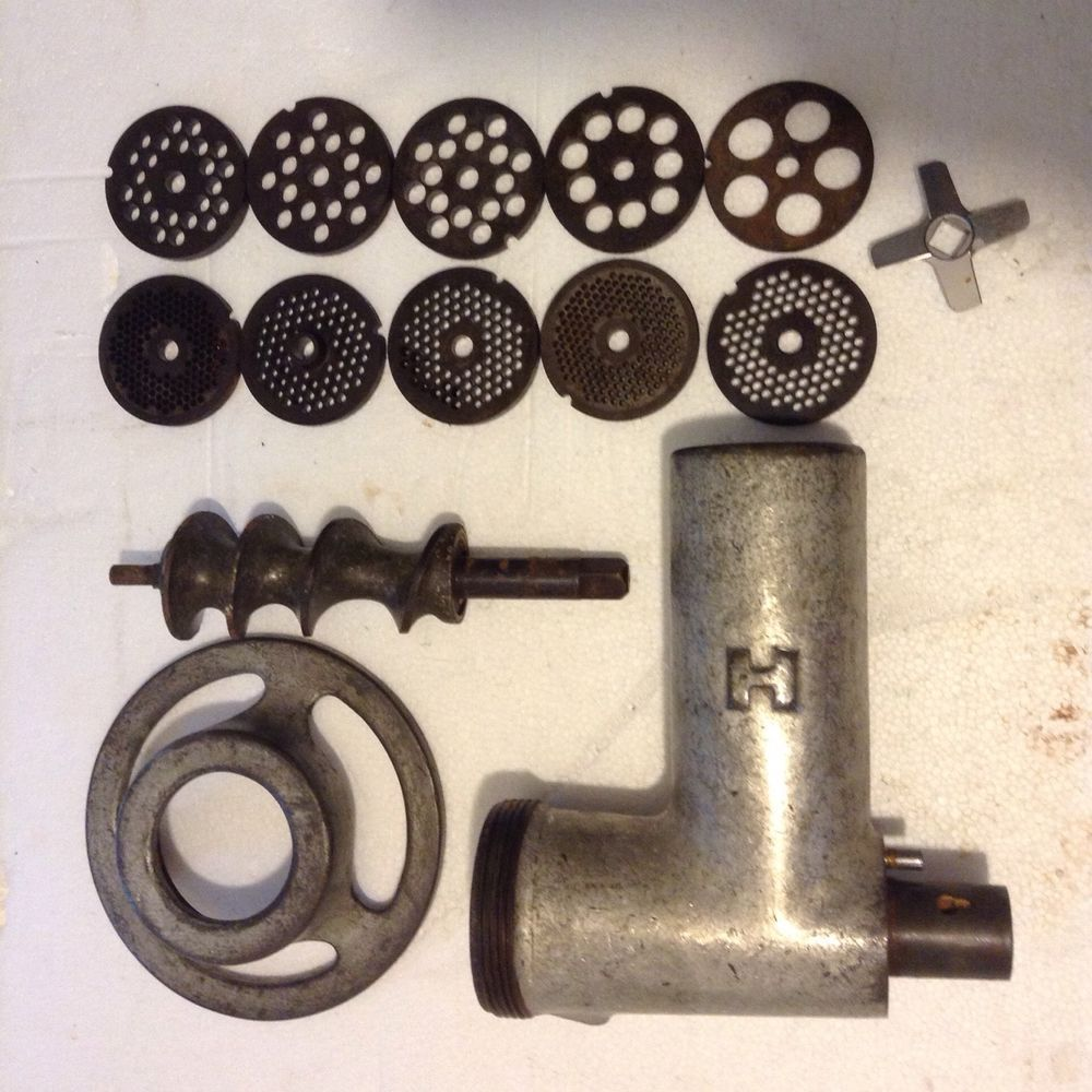 Hobart Meat Grinder Chopper Attachment Size 12 Hub And
