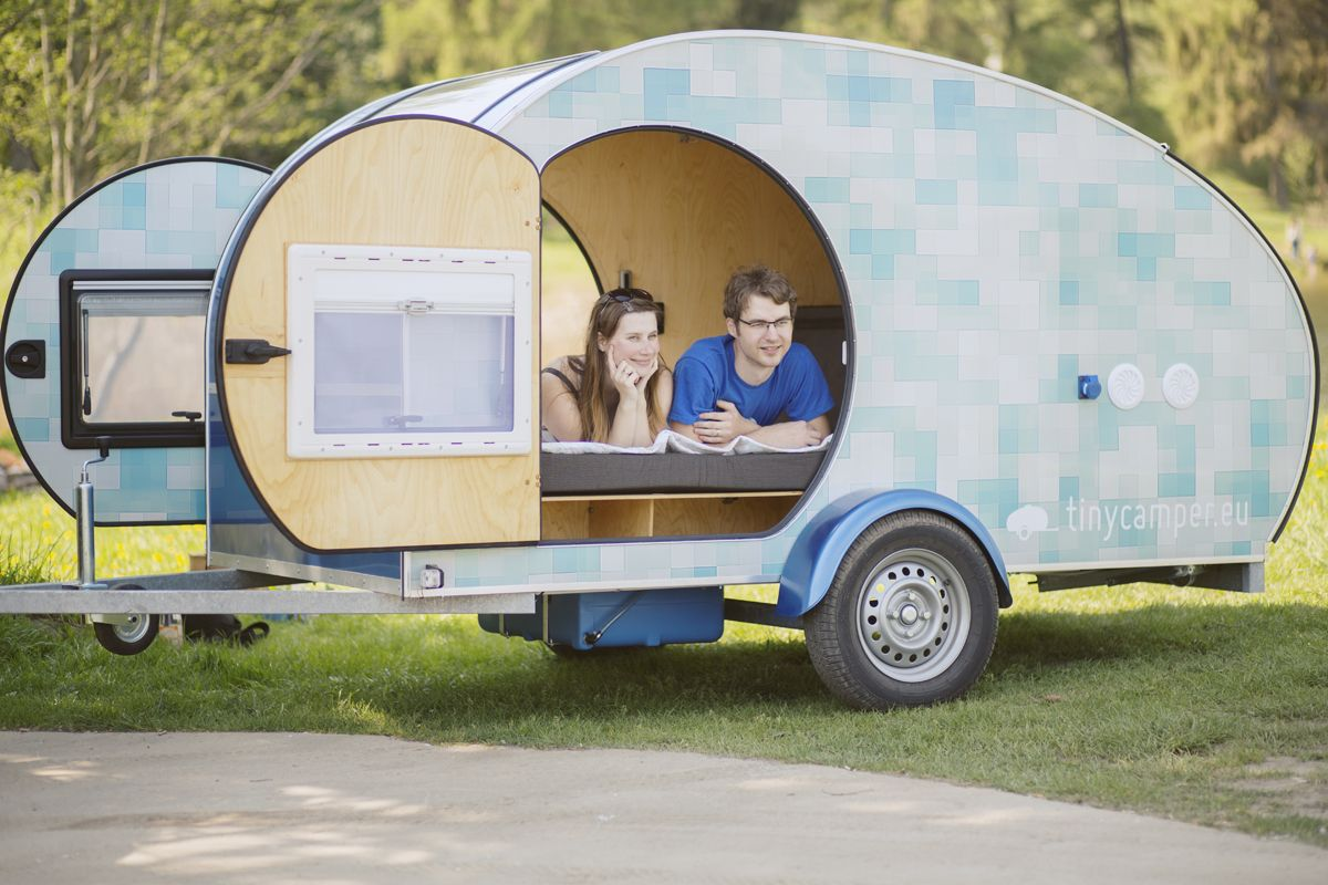 Tearcuby Teardrop Camping Camping Trailer Cozy House