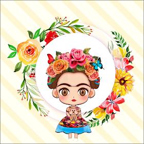 Fiestas Personalizadas Imprimibles Imprimibles Gratis Frida Kalho Egg Carton Flowers Paper Art Belly Dancer Costumes