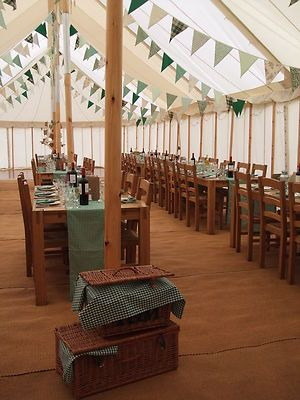 HIRE OF TRADITIONAL VINTAGE CANVAS MARQUEE WOODEN POLE PARTY TENTS IN YORKSHIRE | eBay & HIRE OF TRADITIONAL VINTAGE CANVAS MARQUEE WOODEN POLE PARTY TENTS ...