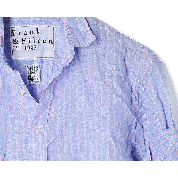 frank and Eileen striped shirts