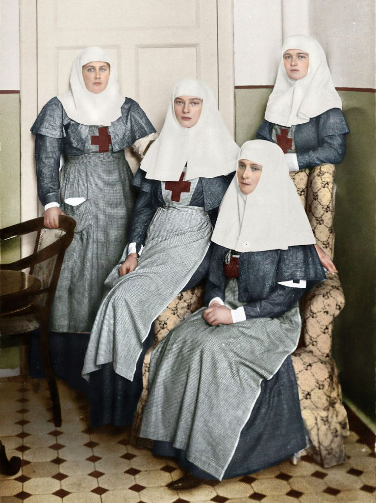 Colorized Photos Of Russian People in 1900-1965 (25 pics)   Old Pics Archive   Page 7