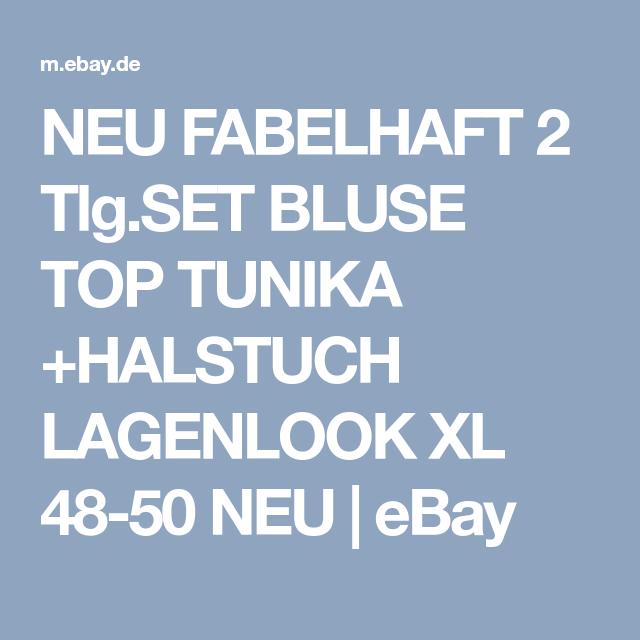 Lagenlook A-Linie-Oversize-Zipfel-Tunika mit Spitze 46,48,50,52,54,XL,XXL,XXXL