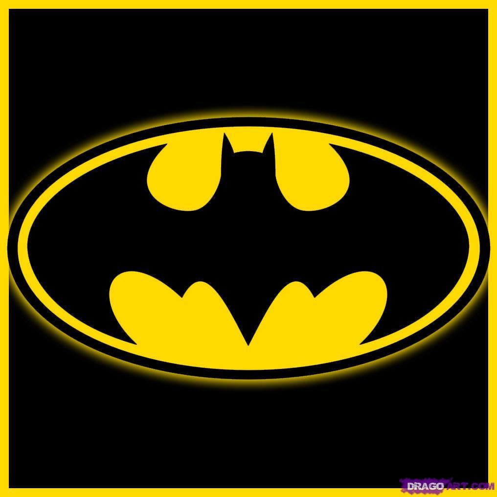 How To Draw Batman Logo By Teton Batman Drawing Batman Logo