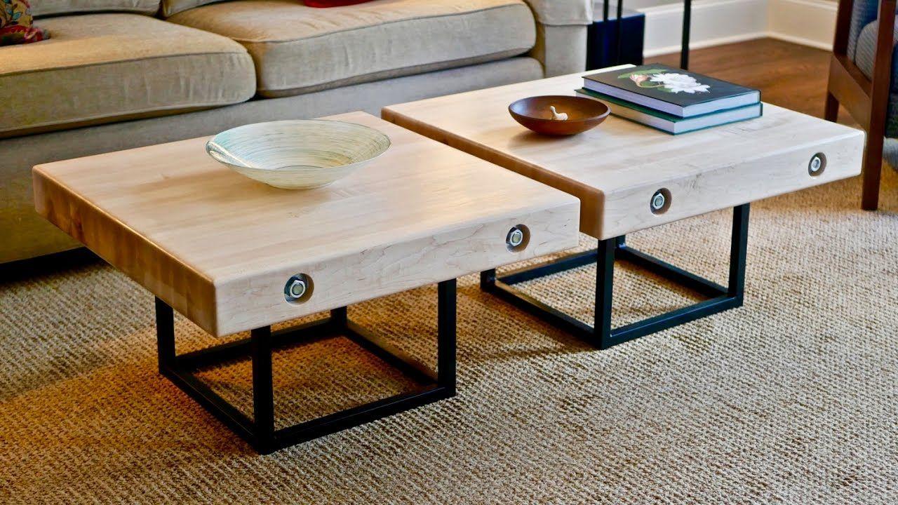 Https X2f X2f Craftedworkshop Com X2f Modern Maple Steel Coffee Table Part 1 Build X2f In This Part 1 Of Thi Steel Coffee Table Coffee Table Table Parts [ 720 x 1280 Pixel ]