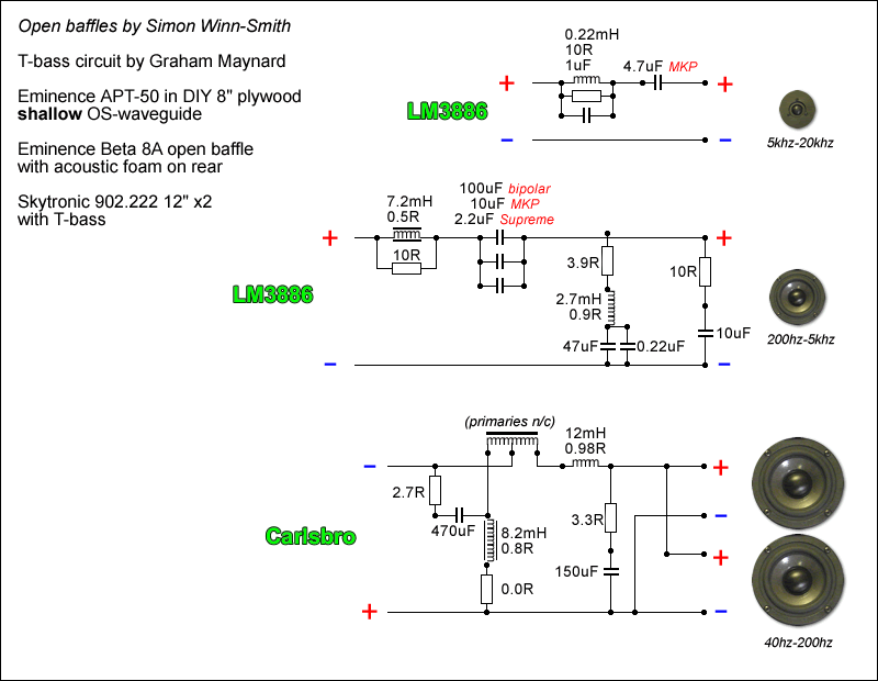 Crossover Design Using Online Crossover Calculator Circuit Wiring