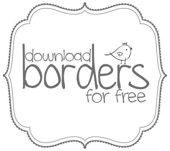 Free frame clipart border - ClipartFest | Free Borders | Pinterest ...