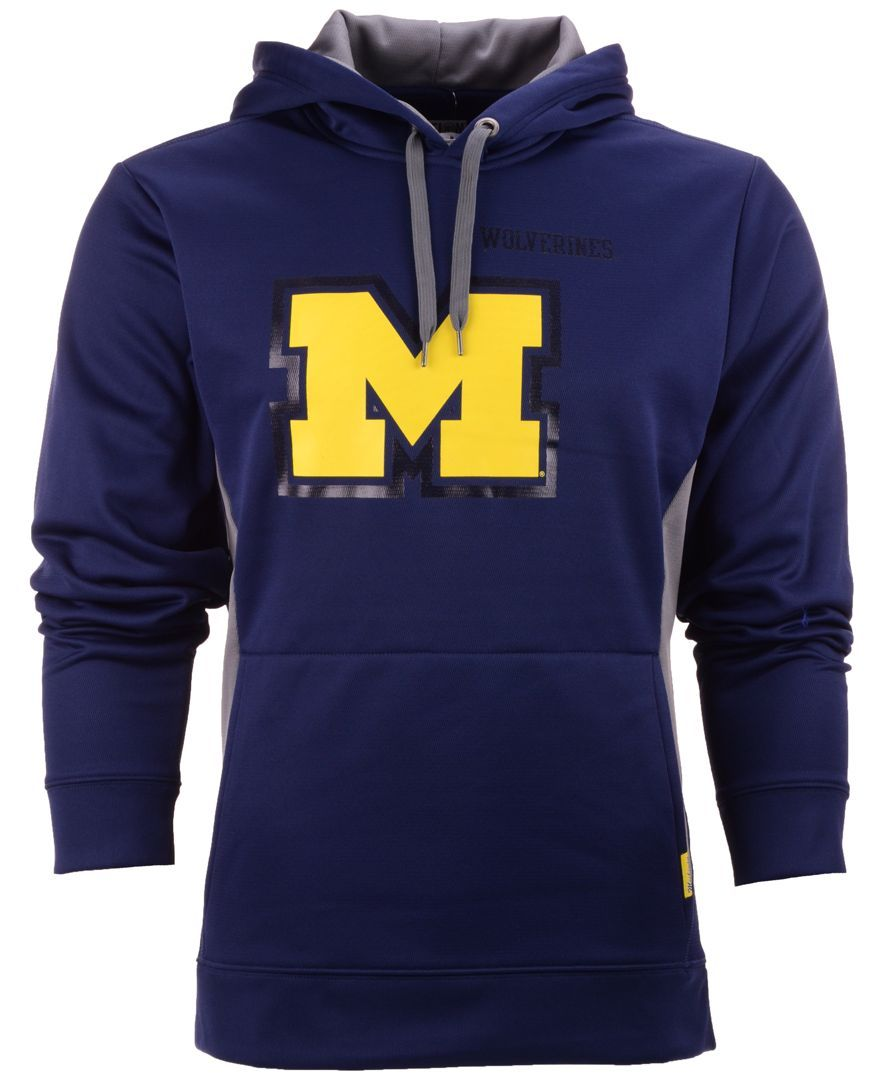 Vf Licensed Sports Group Men's Michigan Wolverines Doctorate Hoodie