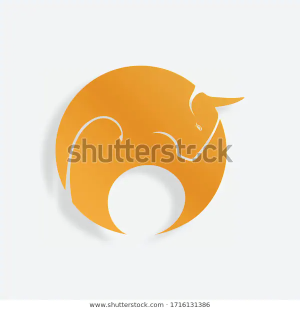 Chinese New Year 2021 Year Cow Stock Vector (Royalty Free