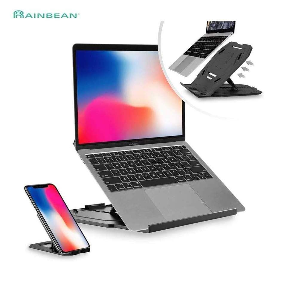 Two In One Laptop Cooling Stand Flexible And Adjustable Laptop