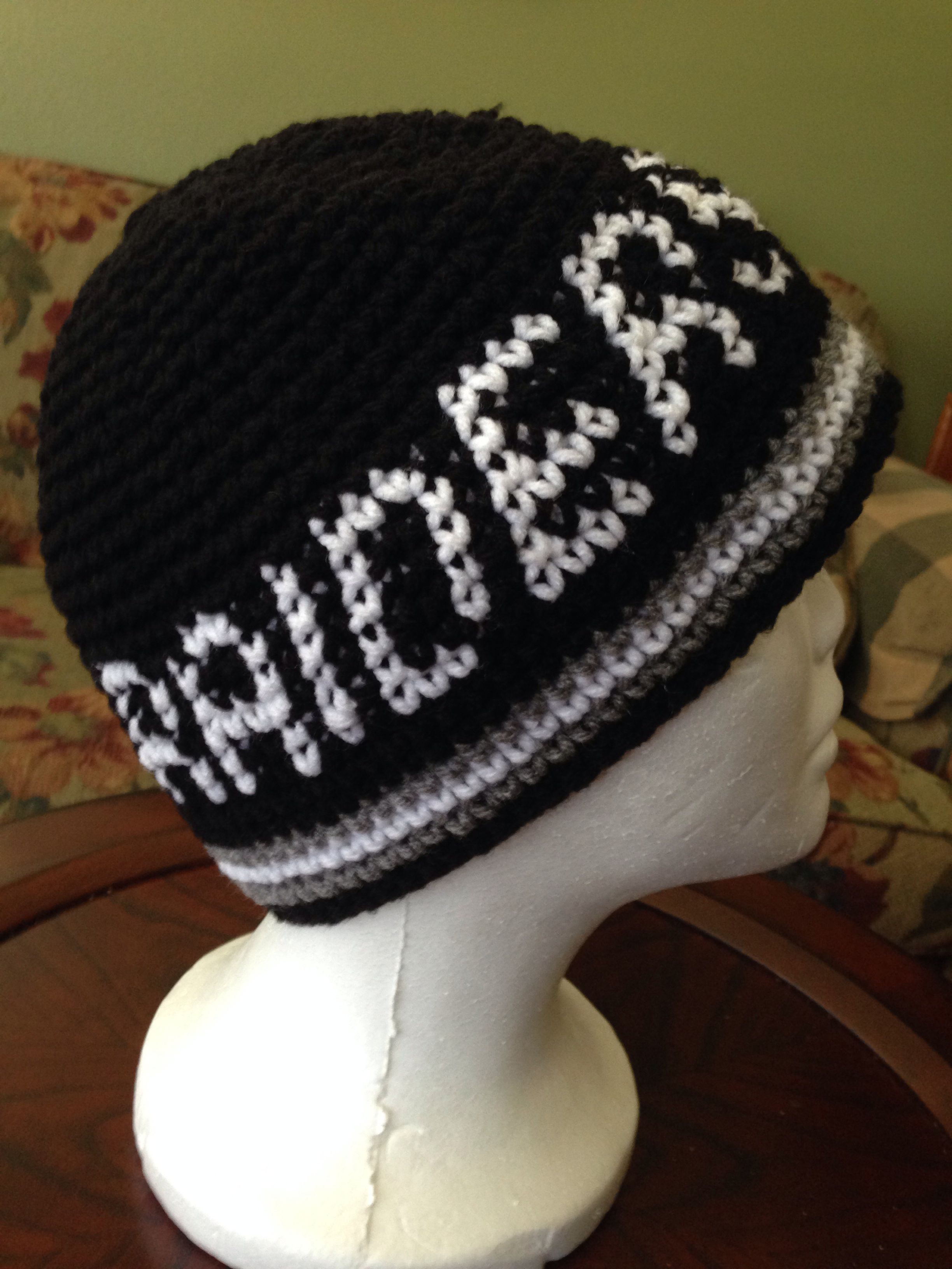 Raiders Beanie Thanks to One Virtuous Women on YouTube for the Graphing  lesson! 099c4fbf8