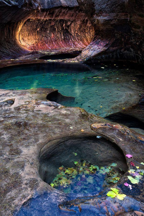 The Subway Utah National Parks National Parks Zion National Park