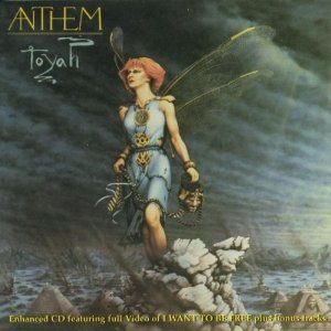 Anthem - Toyah. I gave away my LPs in the late 80s, and it took me more than 20 years to get one of my favorite albums on CD. Glad I did - I like it as much as I did back then.