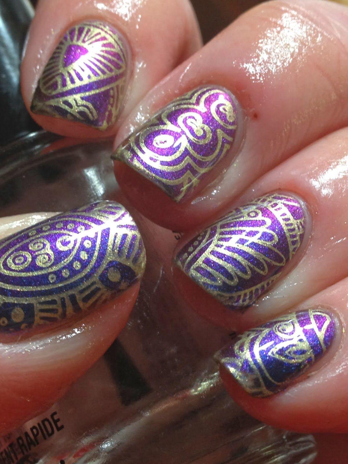 Infinity Nails. | Nail Art | Pinterest | Infinity nails, Nail ...