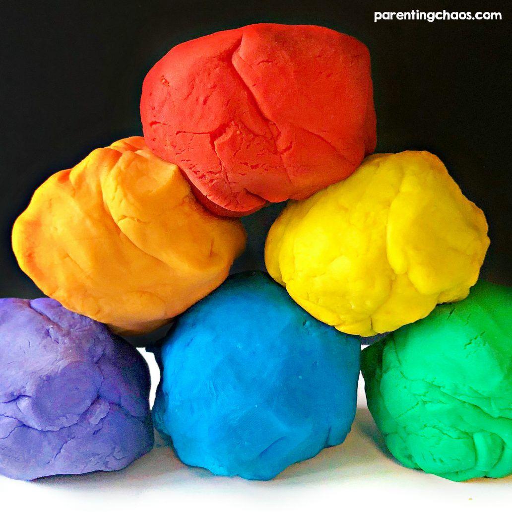 How to Make Playdough Without Flour Homemade playdough