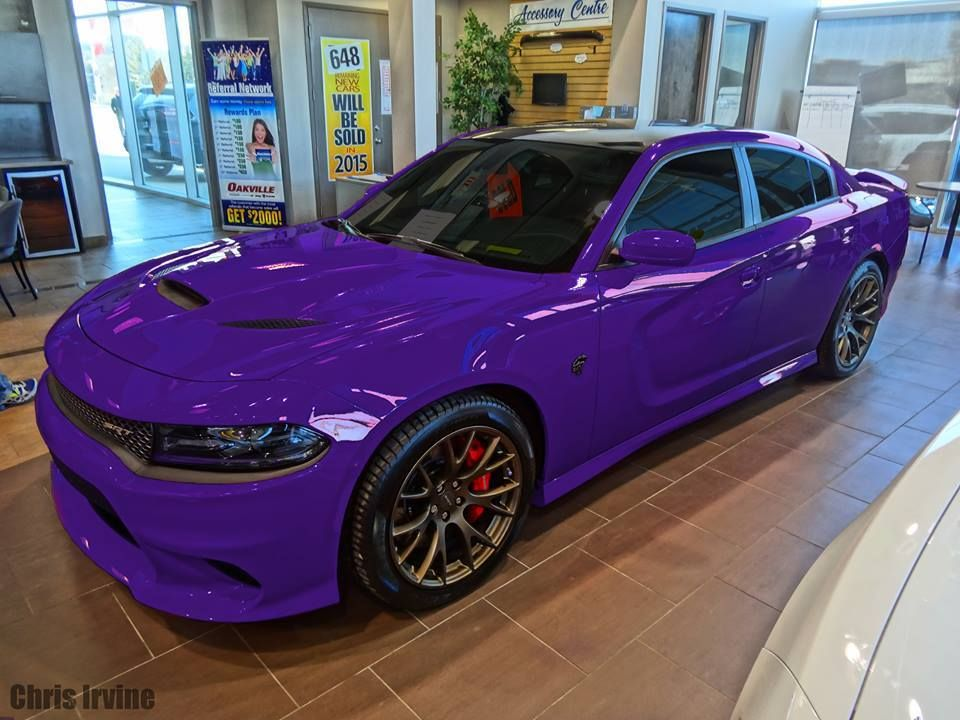 Purple Dodge Charger Hellcat 2015 Dodge Charger Hellcat Dodge Charger Purple Car