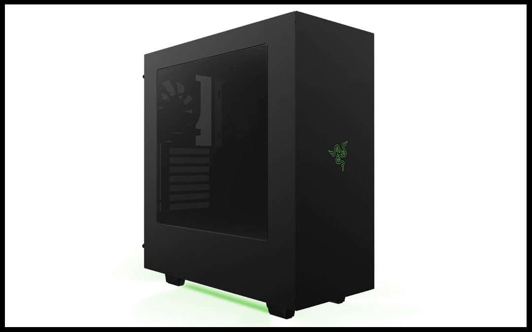 Nzxt And Razer Are At It Again Meet The S340 Razer Custom Gaming Computer Computer Case