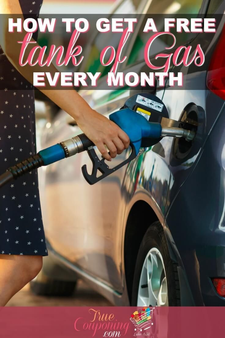 Cheap gas how to get a free tank of gas every month