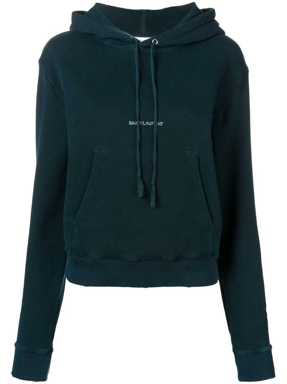 differently a3aee 3391a Saint Laurent Logo Hoodie | Products in 2019 | Saint laurent ...