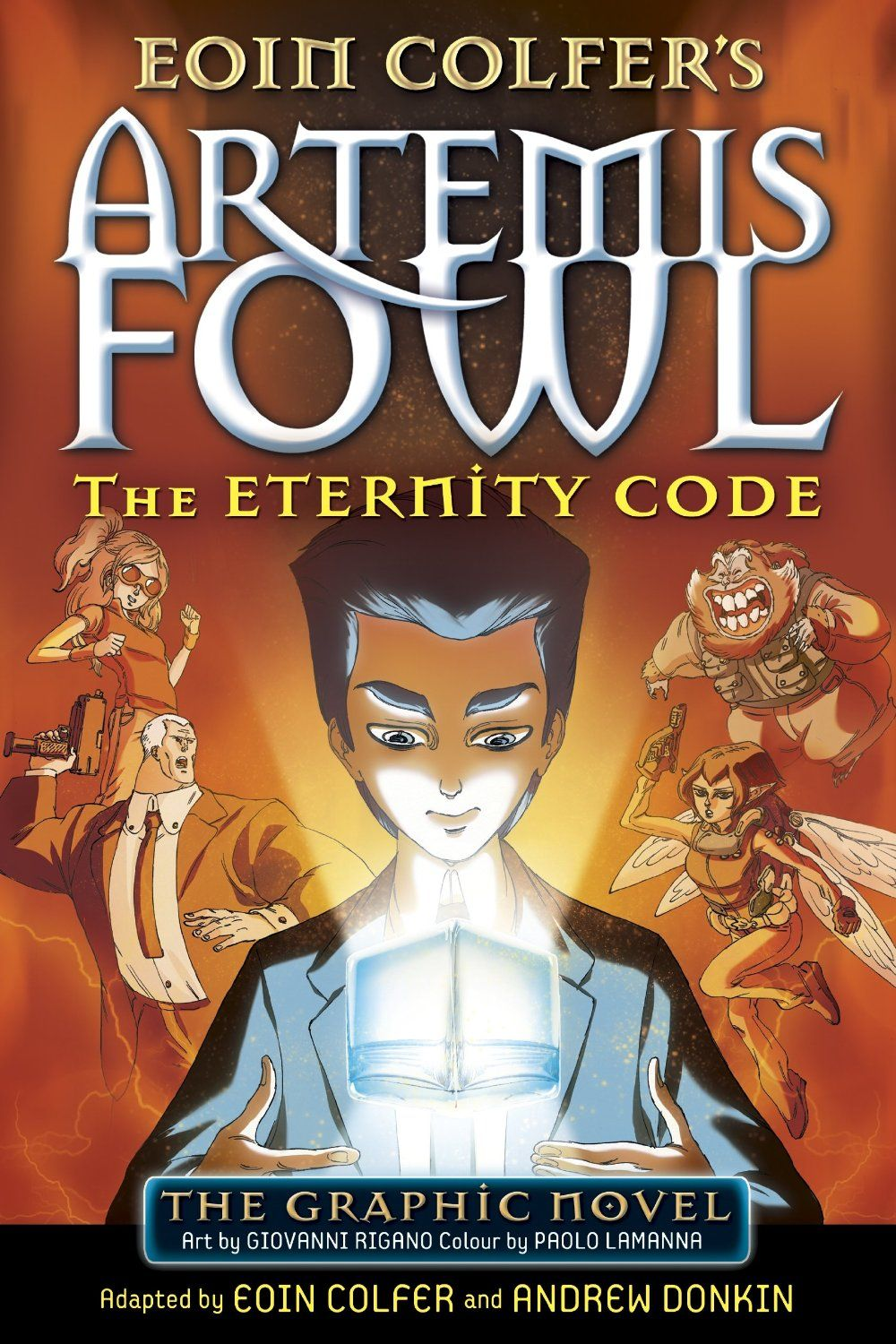 Cover To The Puffin Uk Edition Of The Third Artemis Fowl Graphic Novel   The Eternity
