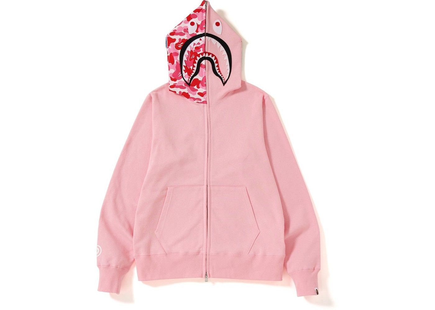 Buy And Sell Authentic Bape Streetwear On Stockx Including The Bape Abc Shark Full Zip Hoodie Ss19 Pink And Thousands Of Oth Bape Outfits Bape Hoodie Hoodies [ 1000 x 1400 Pixel ]