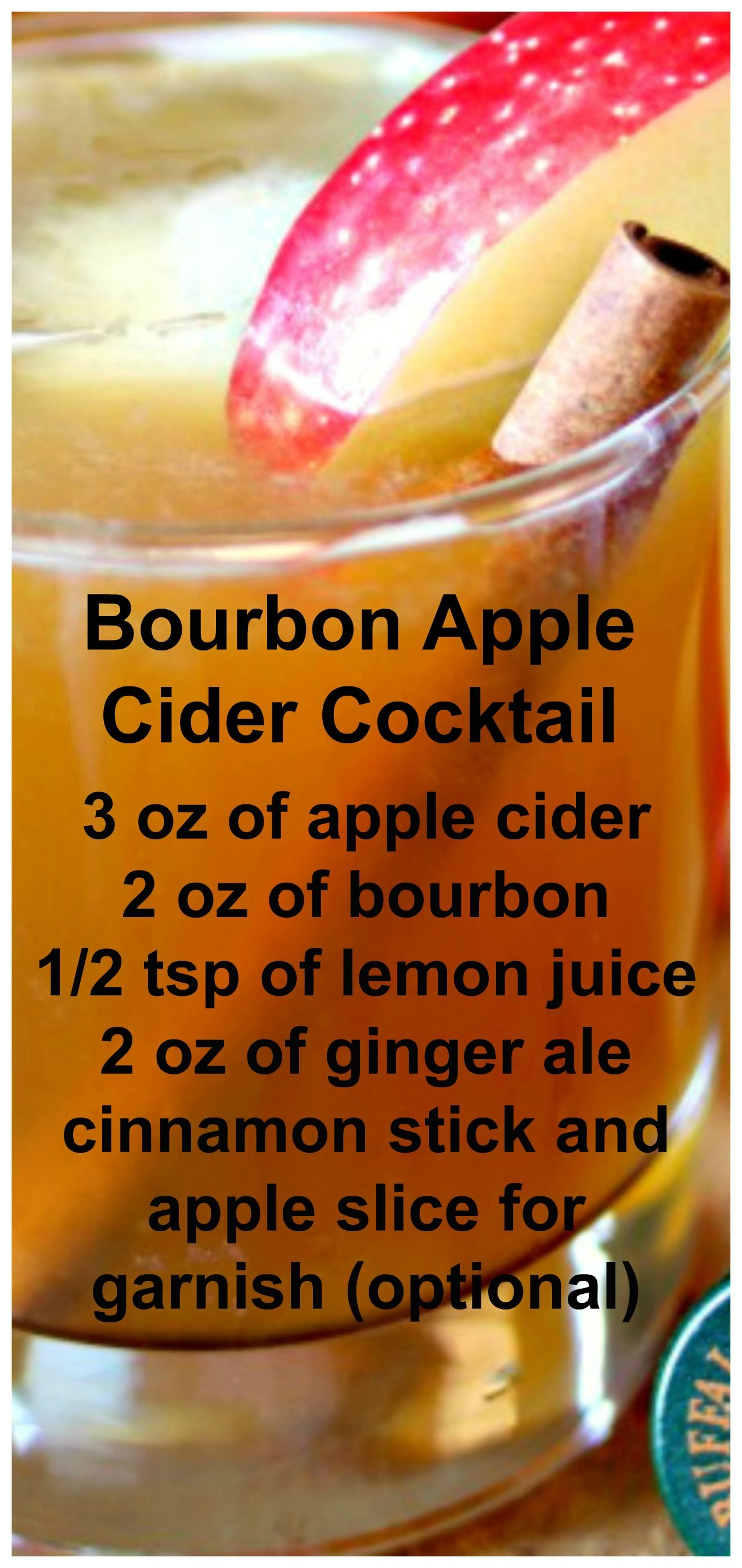 Photo of Bourbon Apple Cider Cocktail