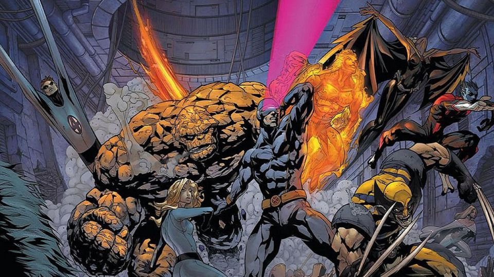 Bryan Singer Reveals The Possibility Of An X Men Fantastic Four Crossover Film With Images Fantastic Four Fantastic Four Movie Marvel Comics Wallpaper