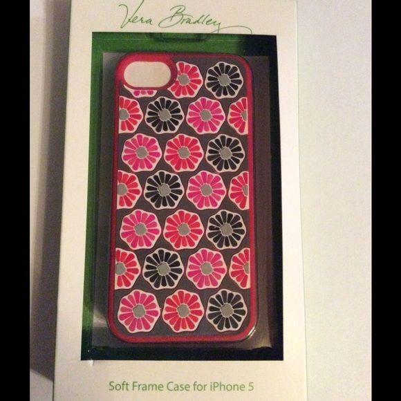 Vera Bradley Soft Frame Case IPhone 5 Blossoms Vera Bradley Soft Frame Case IPhone 5 Vera Bradley Accessories Phone Cases