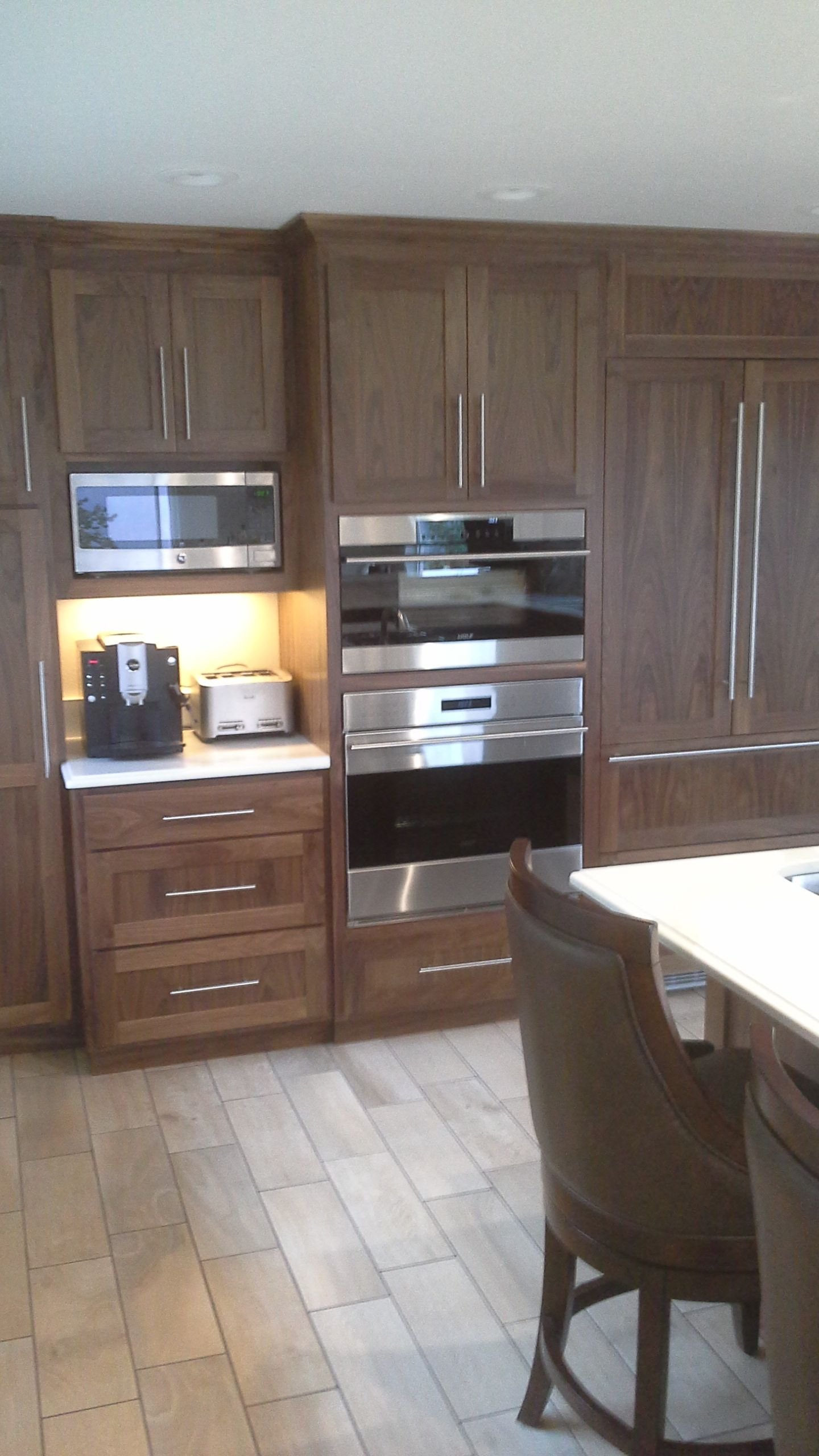See Our Work Cornerstone Cabinetry Fine Craftsmanship Attention To Detail Cabinetry Kitchen Cabinets American Black Walnut