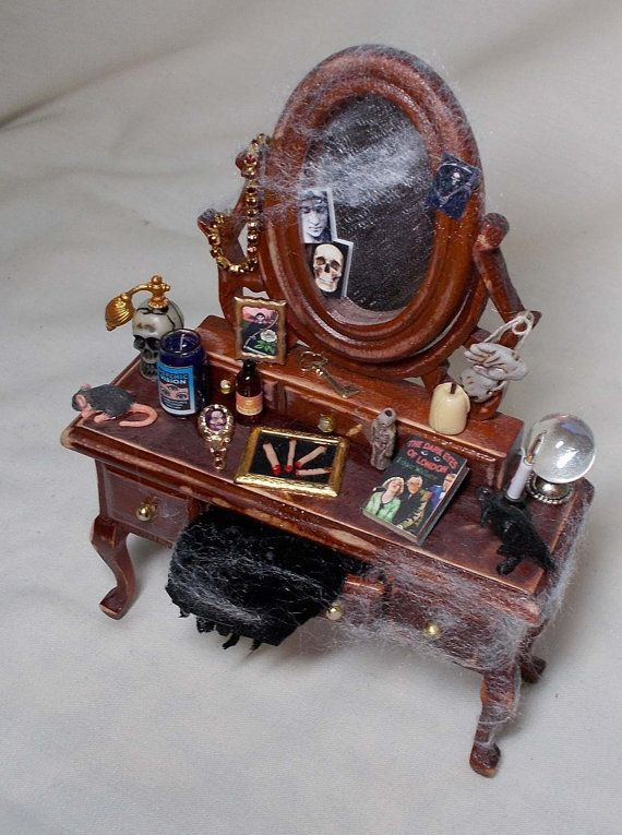 Dolls House Miniature Vampyra / Witch Filled by uniqueminiatures