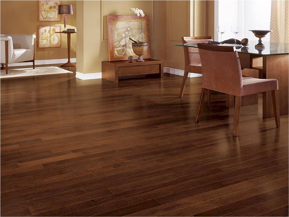 Brazilian chestnut triangulo exotic hardwood flooring for Real wood flooring