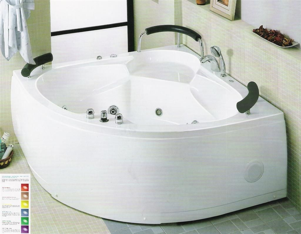 Jetted tub dimensions 26 x 58 26 x 23 22 whirlpool for Jet tub bathroom designs