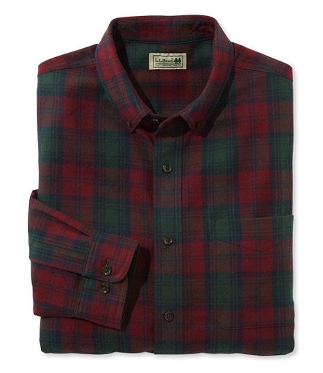 Scotch Plaid Flannel Shirt, Traditional Fit - Lindsay | Clothes ...