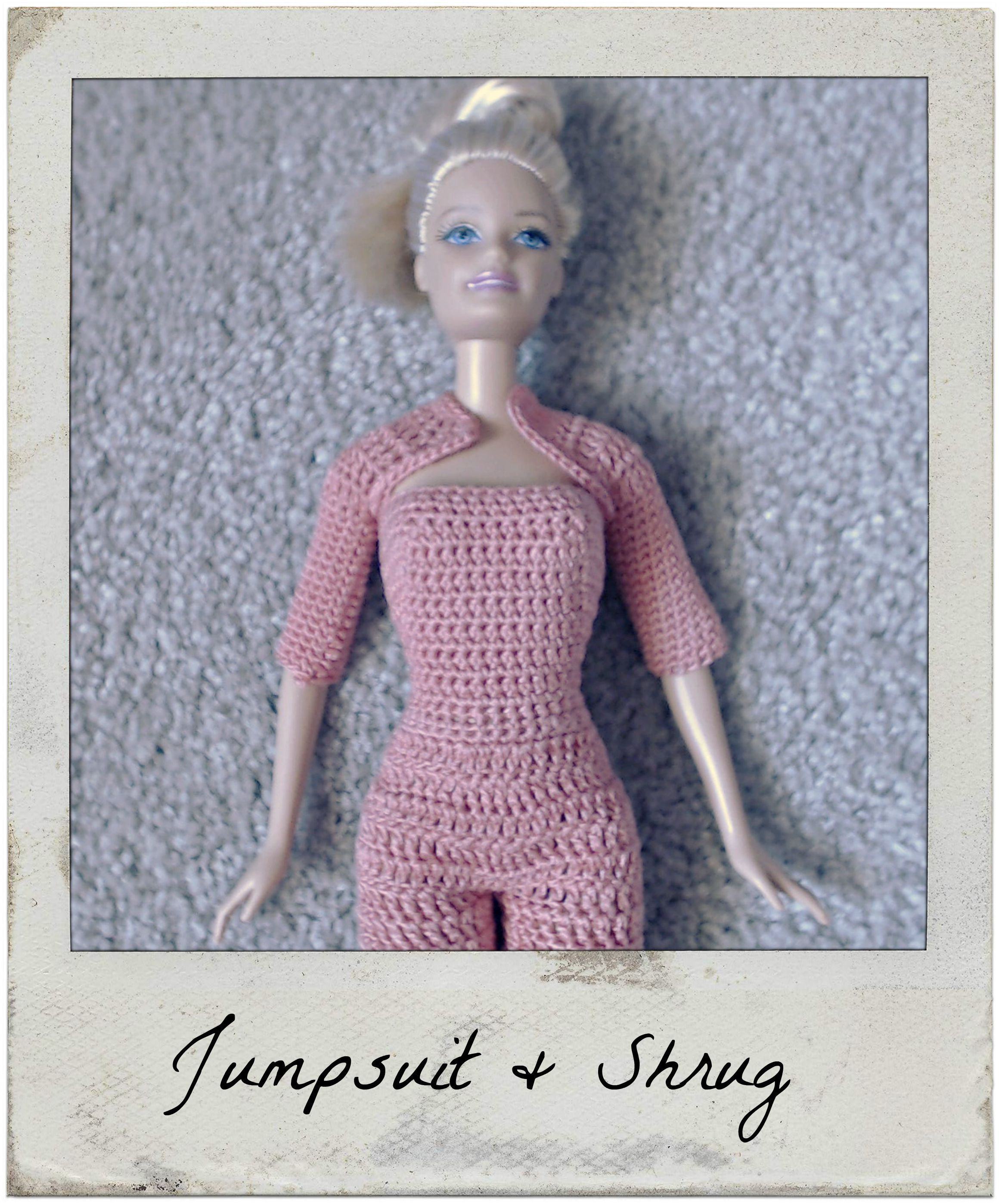 This is my crochet pattern for Barbie\'s Shrug that matches the ...