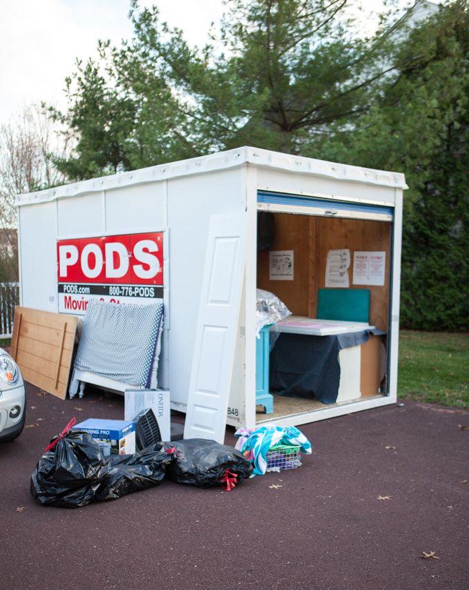 Pod rental and storage