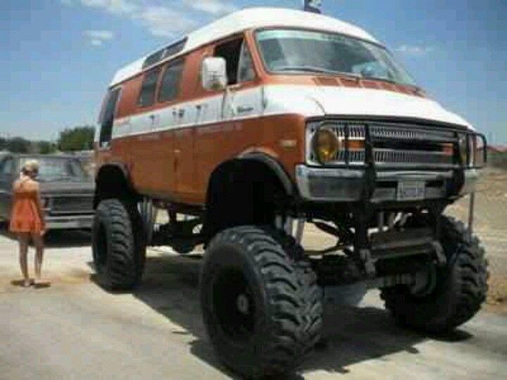 So Awesome Thanks Vinvanco 3 Dodge Van 4x4 Van Lifted Van