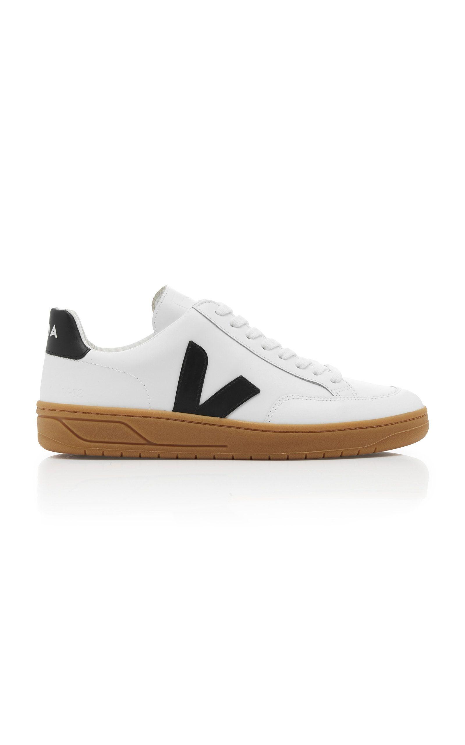 V-12 Leather Sneakers By Veja | Moda