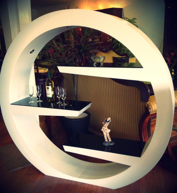 Juguetero Circular Blanco Rivher Muebles Muebleria  # Muebles Riquelme