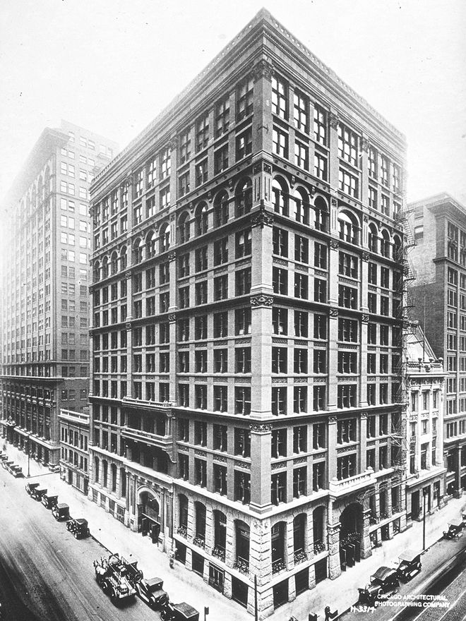 Chi Home Insurance Company Building William Le Baron Jenney