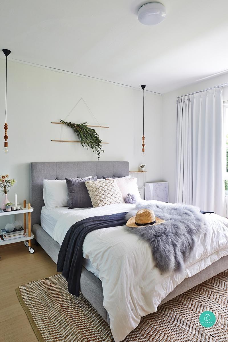 Master bedroom hdb  Labour of Love Behind Friskaus Impressive HDB Maisonette  Bedroom