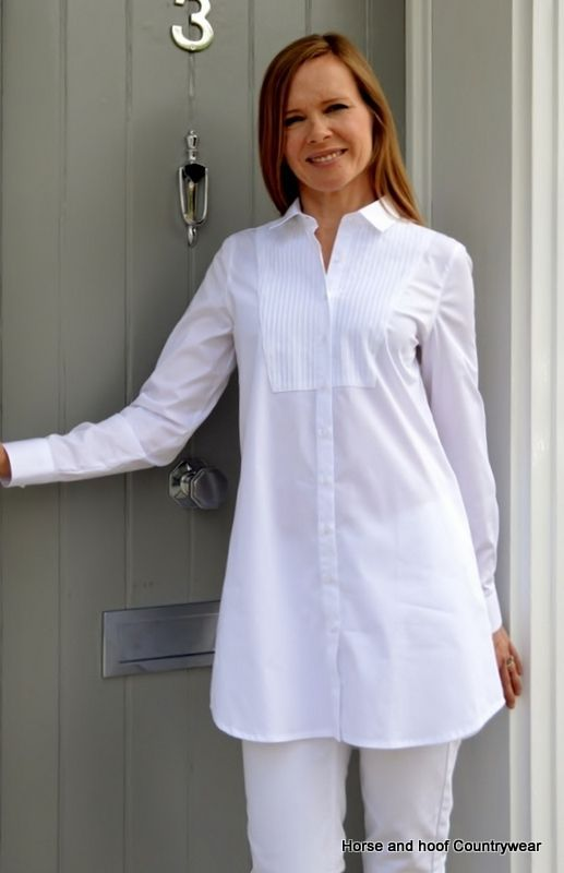 Perfect White Shirt - Saffron Shirt Versatile white shirt dress ...