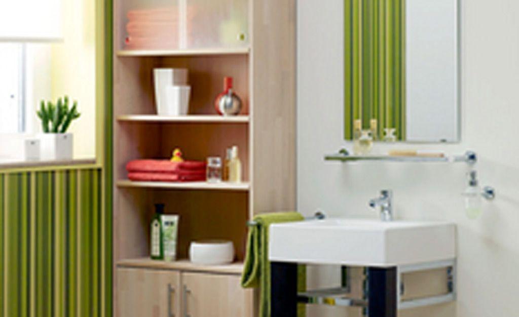 Badschrank Hoch Regal Mit Schiebeturen Badschrank Kleine Badezimmer