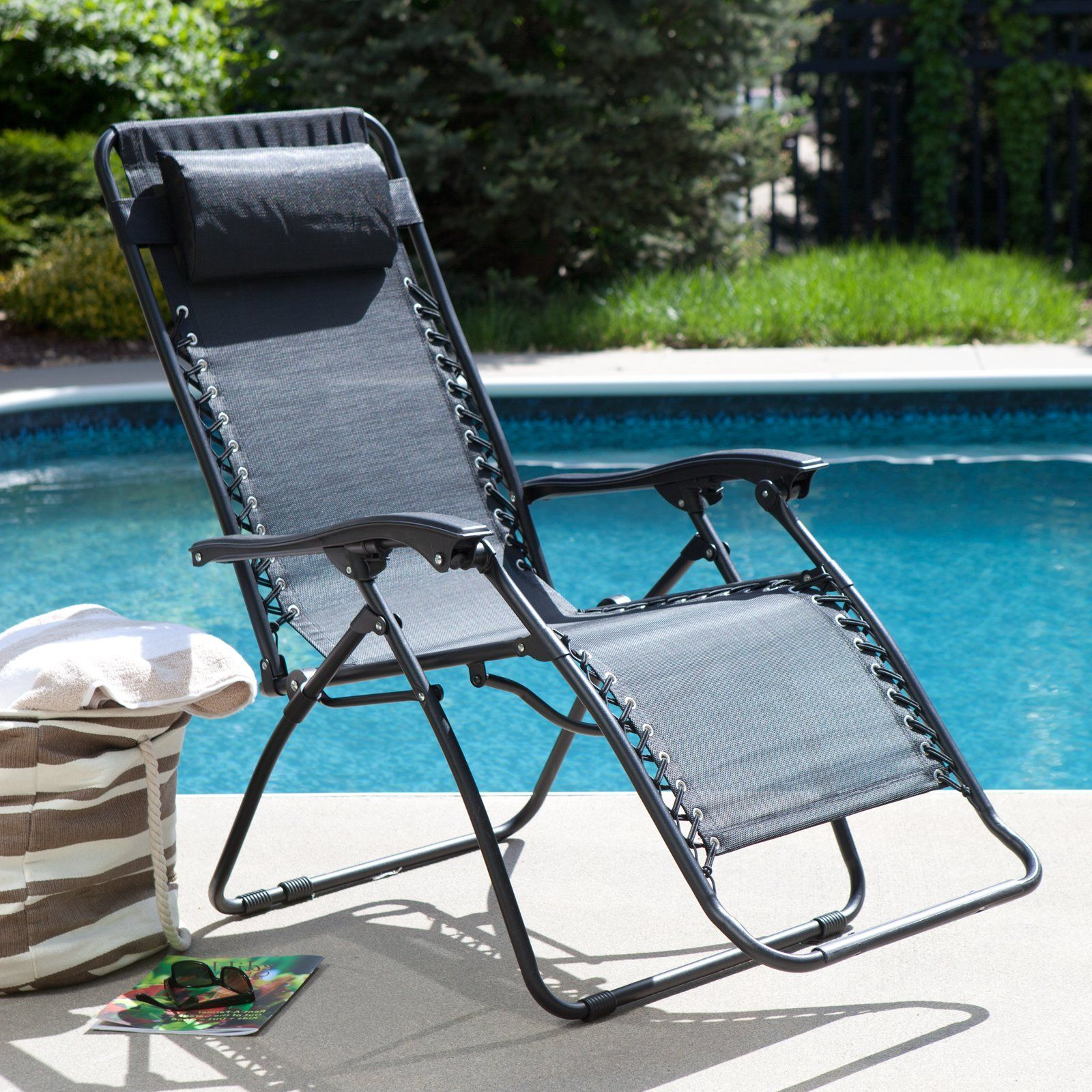 $55 +$5 Rush SH Caravan Canopy Zero Gravity Lounge Chair   Outdoor Chaise  Lounges At