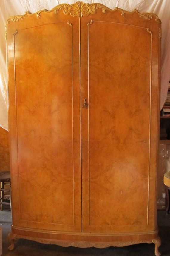 Vintage French Style Armoire Wardrobe By HoneyYourHome On Etsy, $1200.00