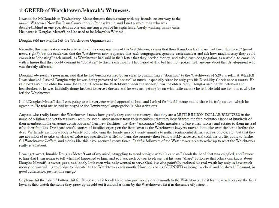 In the January 15 2015 study edition of the Watchtower magazine, there is a 5-page article that talks about constructionwork in the cities of Walkill and Warwick in the state of New York. These tw...