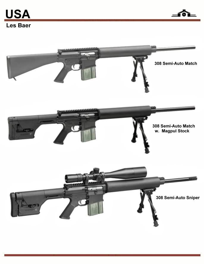Baer 308 Sniper Series