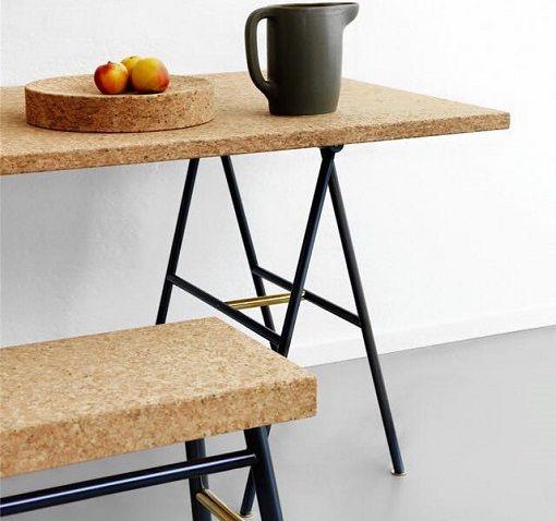 mesa de corcho ikea Furniture u2022 Mobiliario Pinterest Corchos