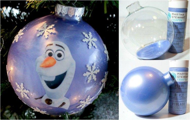 Decoration reine des neiges a faire soi meme - Decoration de noel disney ...